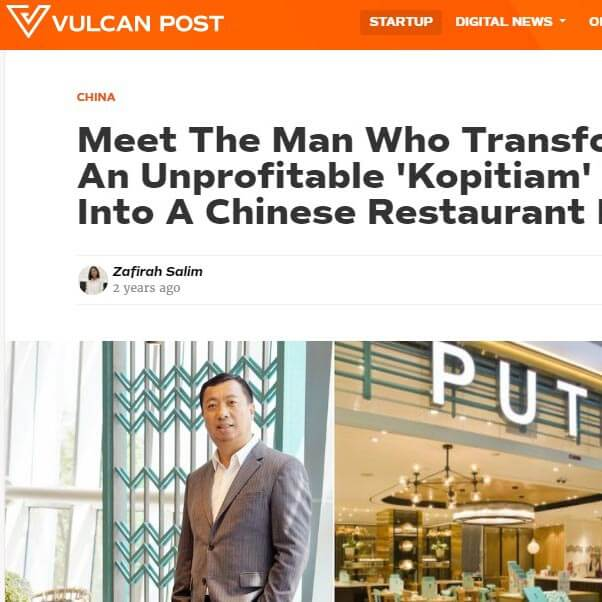 Meet The Man Who Transformed An Unprofitable 'Kopitiam' Eatery Into A Chinese Restaurant Empire