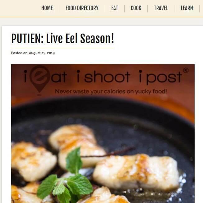 PUTIEN: Live Eel Season!